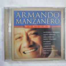 CDs de Música: ARMANDO MANZANERO - DUETOS 2 - CD 2002 . Lote 121384527