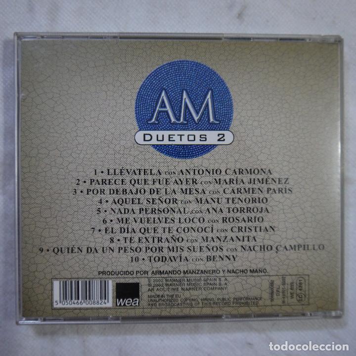CDs de Música: ARMANDO MANZANERO - DUETOS 2 - CD 2002 - Foto 3 - 121384527