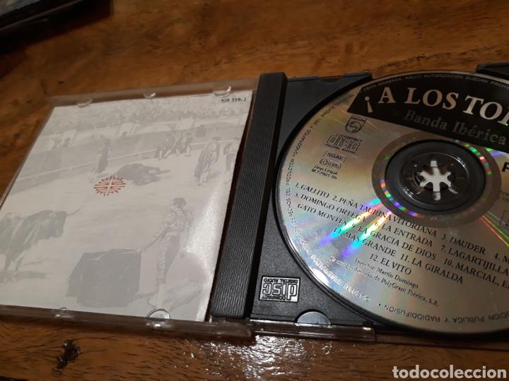 CDs de Música: Paso dobles Á Los TOROS ( banda Ibérica) - Foto 3 - 121396579