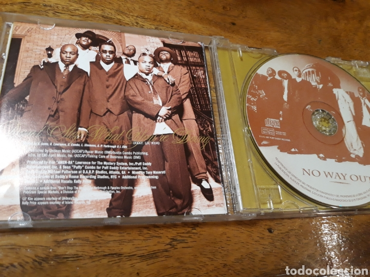CDs de Música: PUFF DADDY AND THE FAMILY No Way Out - Foto 3 - 121398940