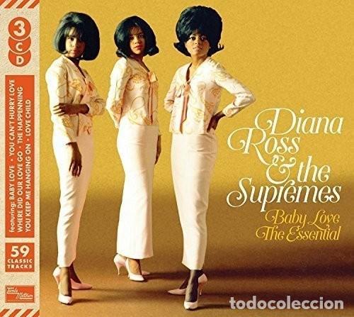 DIANA ROSS 6 THE SUPREMES * 3CD * BABY LOVE THE ESSENTIAL * LTD DIGIPACK * PRECINTADO! (Música - CD's Jazz, Blues, Soul y Gospel)