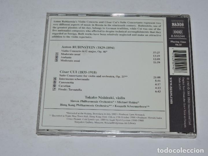 Anton rubinstein: violin concerto - takako nish - Sold