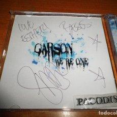CDs de Música: GARSON WE´RE ONE CD ALBUM ANA TORROJA FIRMADO EL NUMERO UNO CONTIENE 12 TEMAS MECANO RARO. Lote 121470055