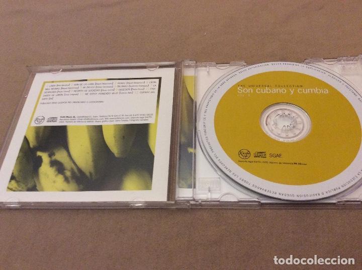 CDs de Música: SON CUBANO Y CUMBIA VOL. 1. UNIVERSAL COLLECTION 2000. - Foto 3 - 121481647