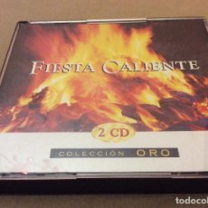 CDs de Música: FIESTA CALIENTE 2 CDS. 2001.. Lote 121482019