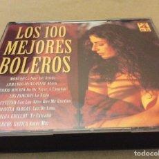 CDs de Música: LOS 100 MEJORES BOLEROS - 4 CD'S 1996. . Lote 121482747