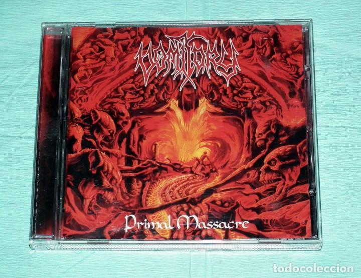 CD VOMITORY - PRIMAL MASSACRE (Música - CD's Heavy Metal)