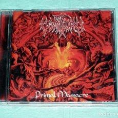 CDs de Música: CD VOMITORY - PRIMAL MASSACRE. Lote 121513479