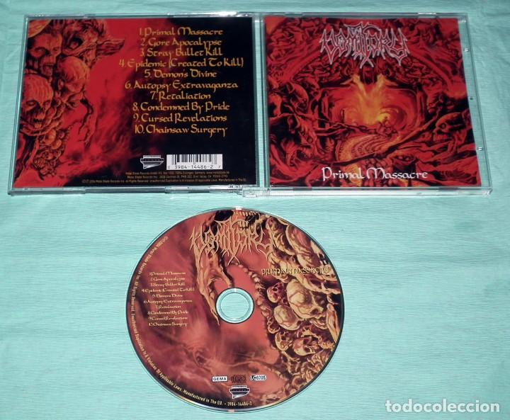 CDs de Música: CD VOMITORY - PRIMAL MASSACRE - Foto 2 - 121513479