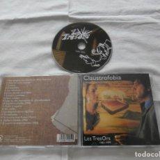 CDs de Música: CLAUSTROFOBIA CD LES TRESORS 1982-1999 (1998) COMO NUEVO ** COLECCIONISTAS**. Lote 121525219