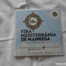 CDs de Música: 16 FIRA MEDITERRANIA DE MANRESA (2013) OBRIM PAS LAIETANS / NEVOA / TAZZUFF / FILASTIME**NUEVO**. Lote 121530091