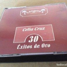 CDs de Música: CELIA CRUZ. 30 EXITOS DE ORO. LATINOS DE ORO. 1999.. Lote 121544555