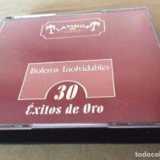 CDs de Música: BOLEROS INOLVIDABLES. 30 EXITOS DE ORO. 1999. 2 CD.. Lote 121545215