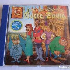 CDs de Música: BANDA SONORA ORIGINAL - EL JOROBADO DE NOTRE DAME 1995 SPAIN CD * DDD. Lote 121562139