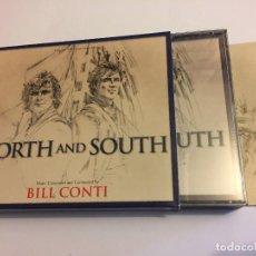 CDs de Música: NORTE Y SUR, BILL CONTI, 4 CD'S, DESCATALOGADO, NUEVO !. Lote 121564911