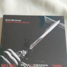 CDs de Música: ENNIO MORRICONE QUENTIN TARANTINO MOVIES KILL BILL INGLOURIOUS BASTARDS DEATH PROOF.. PRECINTADO. Lote 122051808