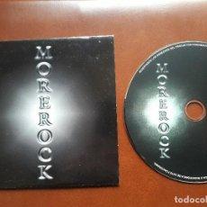 CDs de Música: MOREROCK - PROMO CD SINGLE - HEAVY METAL 2001. Lote 121599347