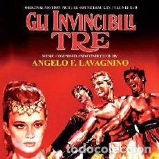 CDs de Música: URSUS: LOS TRES INVENCIBLES - GLI INVINCIBILI TRE MÚSICA COMPUESTA POR ANGELO FRANCESCO LAVAGNINO. Lote 121641899
