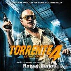 CDs de Música: TORRENTE 4 LETHAL CRISIS MÚSICA COMPUESTA Y DIRIGIDA POR ROQUE BAÑOS. Lote 121642219