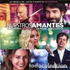 CDs de Música: NUESTROS AMANTES MÚSICA COMPUESTA POR ROQUE BAÑOS. Lote 121644147