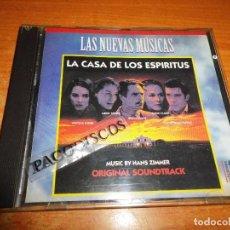CDs de Música: LA CASA DE LOS ESPIRITUS BANDA SONORA CD ALBUM 1995 ESPAÑA LAS NUEVAS MUSICAS MUSICA DE HANS ZIMMER. Lote 121647119