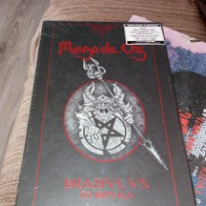 CDs de Música: MAGO DE OZ DIABULUS IN OPERA 2CD+ 2DVD + LIBRO SPANISH HEAVY, BARON ROJO , OBUS. Lote 121652335