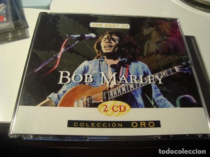 RAR 2 CD'S  BOB MARLEY  THE BEST  COLECCIÓN DE ORO  MADE IN SPAIN   BARBARELA  24 TRACKS