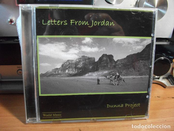 LETTERS FROM JORDAN DUNNA PROJECT CD ALBUM 2004 COMO NUEVO¡¡ PEPETO (Música - CD's World Music)