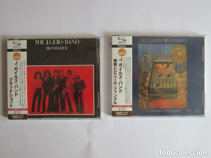 J. GEILS BAND - LOTE 2 (BLOODSHOT + NIGHTMARES ... AND OTHER TALES FROM THE VINYL) 2011 JAPAN SHM CD (Música - CD's Rock)