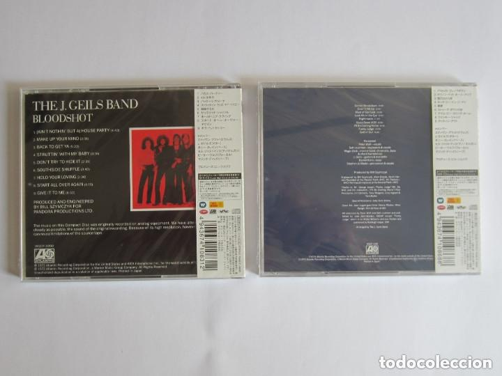 CDs de Música: J. GEILS BAND - LOTE 2 (BLOODSHOT + NIGHTMARES ... AND OTHER TALES FROM THE VINYL) 2011 JAPAN SHM CD - Foto 2 - 121723435