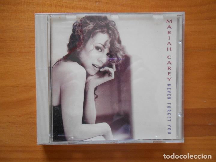CD SINGLE MARIAH CAREY - NEVER FORGET YOU (3P) (Música - CD's Pop)