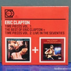 CDs de Música: ERIC CLAPTON. VOL. 1 THE BEST OF ERIC CLAPTON, VOL. 2 LIVE IN THE SEVENTIES. POLYDOR 2010. 2 CD'S. Lote 121764603
