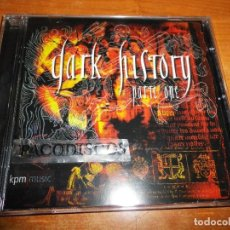 CDs de Música: DARK HISTORY PARTE ONE CD ALBUM DEL AÑO 2002 MUSICA COMPUESTA POR ROBERT FOSTER . Lote 121781487