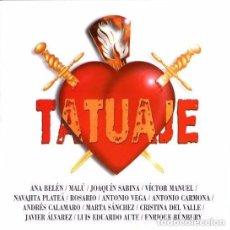 CDs de Música: TATUAJE, CD COMPILATION SPAIN 1999. Lote 121782999
