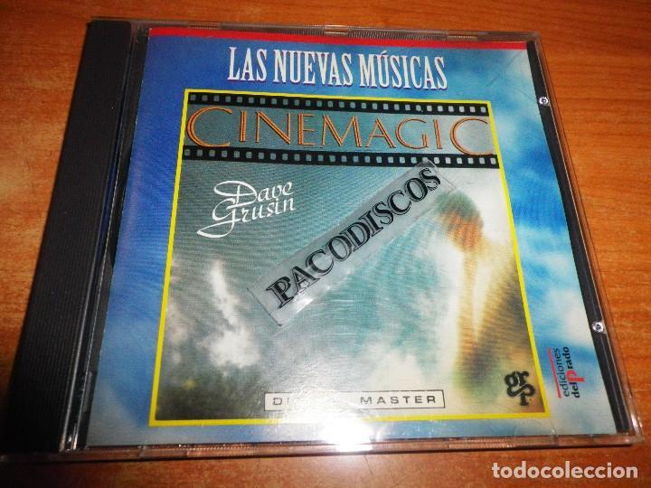 DAVE GRUSIN CINEMAGIC CD ALBUM DEL AÑO 1996 COLECCION LAS NUEVAS MUSICAS EDICIONES DEL PRADO ESPAÑA (Música - CD's New age)
