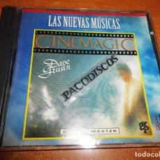 CDs de Música: DAVE GRUSIN CINEMAGIC CD ALBUM DEL AÑO 1996 COLECCION LAS NUEVAS MUSICAS EDICIONES DEL PRADO ESPAÑA. Lote 121784687