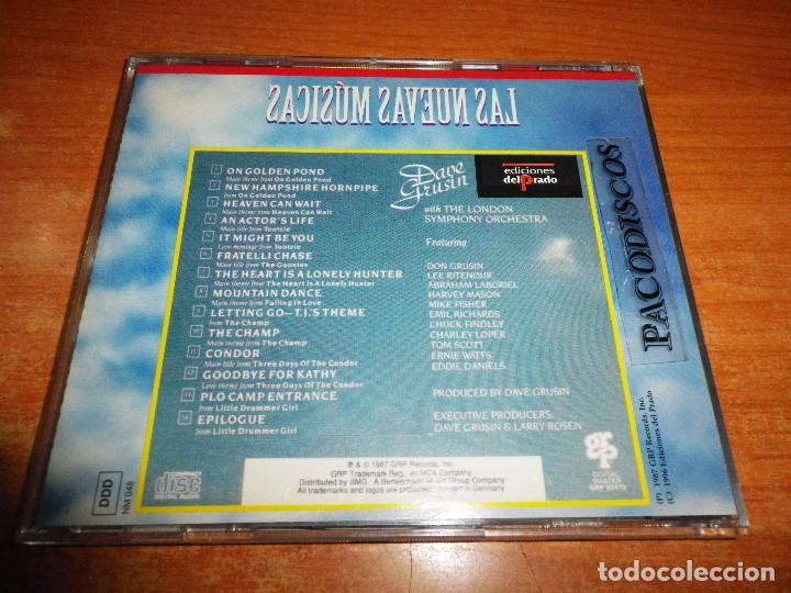 CDs de Música: DAVE GRUSIN Cinemagic CD ALBUM DEL AÑO 1996 COLECCION LAS NUEVAS MUSICAS EDICIONES DEL PRADO ESPAÑA - Foto 2 - 121784687