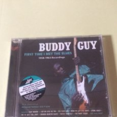 CDs de Música: BUDDY GUY FIRST TIME I MET THE BLUES 1958-1963 RECORDINGS. Lote 121804902