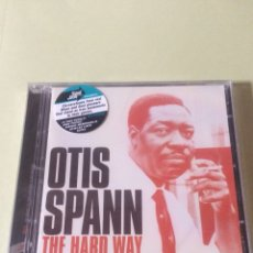 CDs de Música: OTIS SPANN THE HARD WAY, THE AUGUST 23, NEW YORK STUDIO MASTERS RECORDINGS (2 CD'S). Lote 121806099