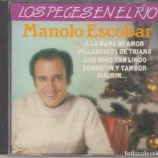 CDs de Música: MANOLO ESCOBAR CD LOS PECES EN EL RÍO 1990 DIVUCSA. Lote 121820851