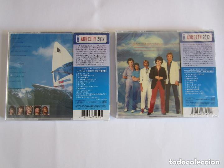 CDs de Música: AIR SUPPLY - LOTE 2 (LOST IN LOVE + THE ONE THAT YOU LOVE) 2017 JAPAN CD - Foto 2 - 121854635