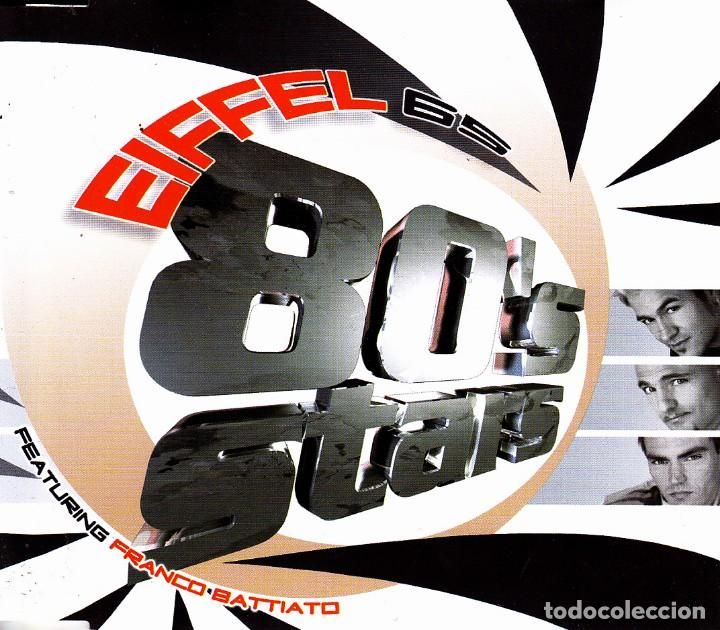 EIFFEL 65 FEATURING FRANCO BATTIATO - ALBUM MIX CD SINGLE 5 TEMAS SPAIN 2001
