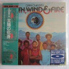 CDs de Música: EARTH, WIND & FIRE - OPEN OUR EYES 1974/2012 JAPAN MINI LP PAPERSLEEVE BLU-SPEC CD SICP-20353. Lote 121890479