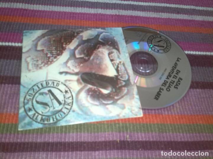 SOZIEDAD ALKOHOLIKA-RATAS + EN EL TEJAO + LA AVENTURA DEL SABER -CD SINGLE -1995 -PROMO (Música - CD's Rock)
