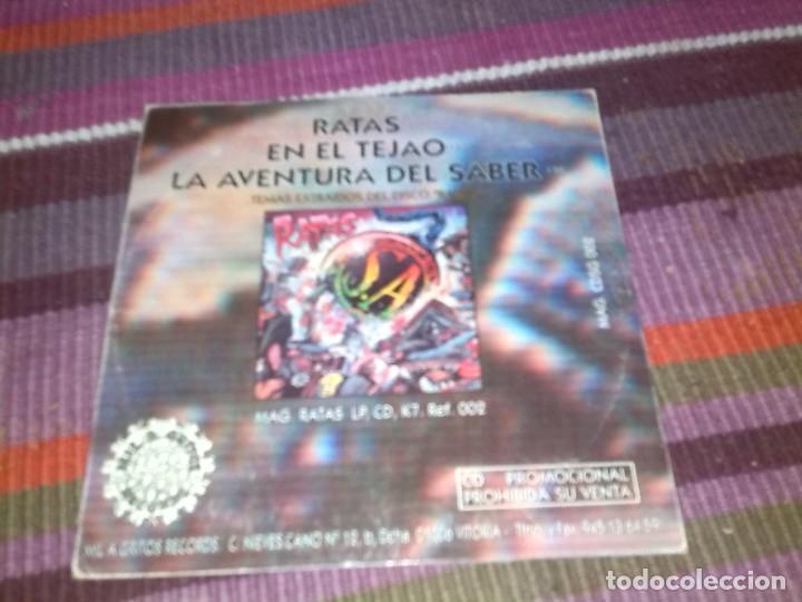 CDs de Música: SOZIEDAD ALKOHOLIKA-RATAS + EN EL TEJAO + LA AVENTURA DEL SABER -CD SINGLE -1995 -PROMO - Foto 2 - 121954527