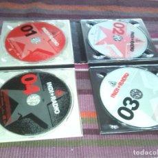 CDs de Música: INDI RADIO. VOL.1. 4 CD PACK. 2004 PLASTICA, EL COLUMPIO ASESINO, LORI MEYERS, DELOREAN TACHENKO... Lote 121959083
