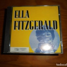 CDs de Música: ELLA FITZGERALD. ORBIS FABBRI, 1995. CD. IMPECABLE. Lote 121973211