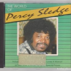 CDs de Música: PERCY SLEDGE - THE WORLD OF ( CD 1991 ) MÚSICA SOUL. Lote 121990255
