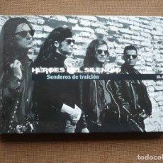 CDs de Música: HEROES DEL SILENCIO SENDEROS DE TRAICION LIBRO CD EL PAIS ROCK. Lote 121994399