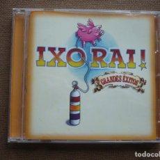 CDs de Música: IXORAI! GRANDES EXITOS CD ROCK. Lote 121994711